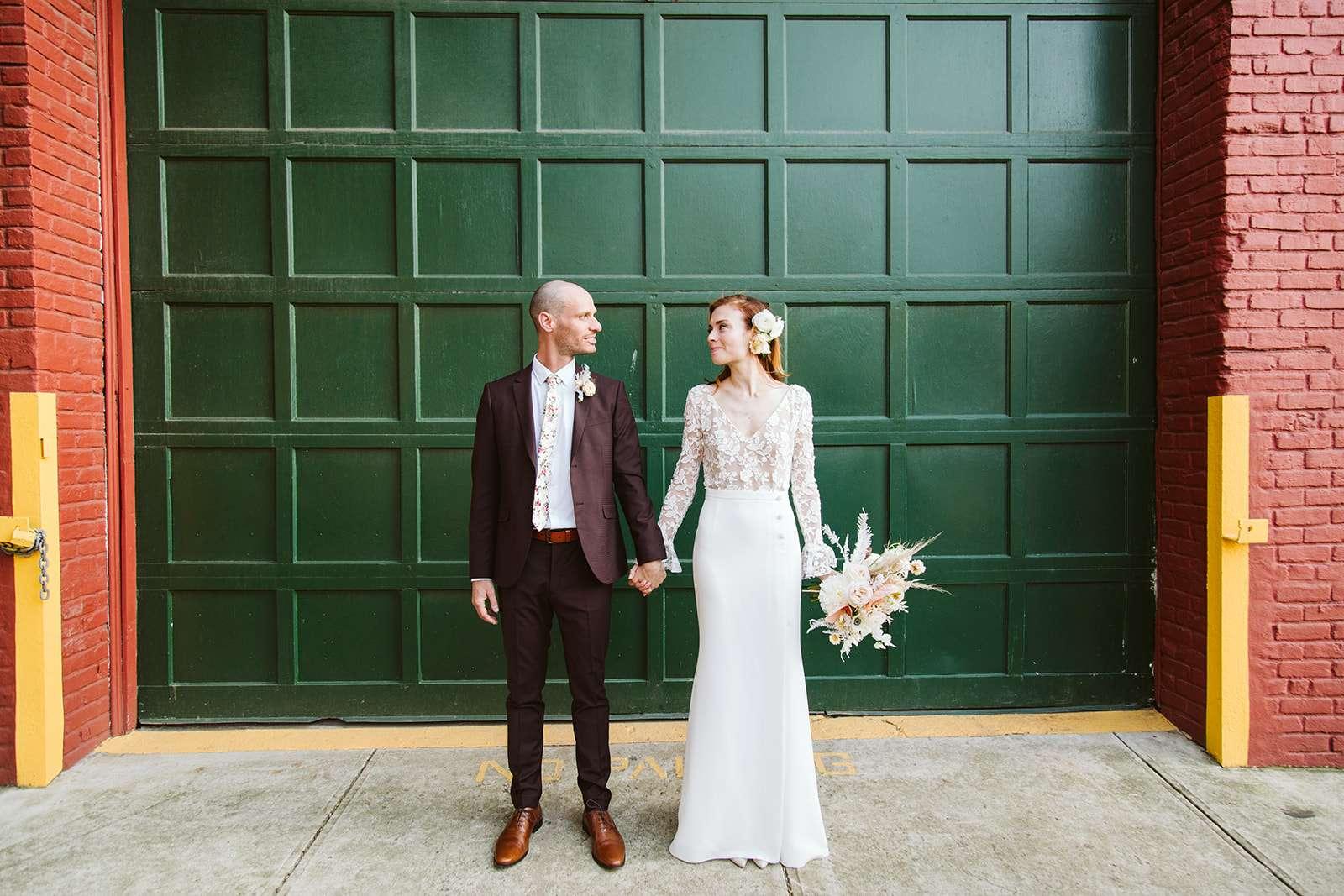 Williamsburg Wedding at Grand Ferry Park and Aurora Brooklyn - Natura Collective, New York City Wedding Photographer