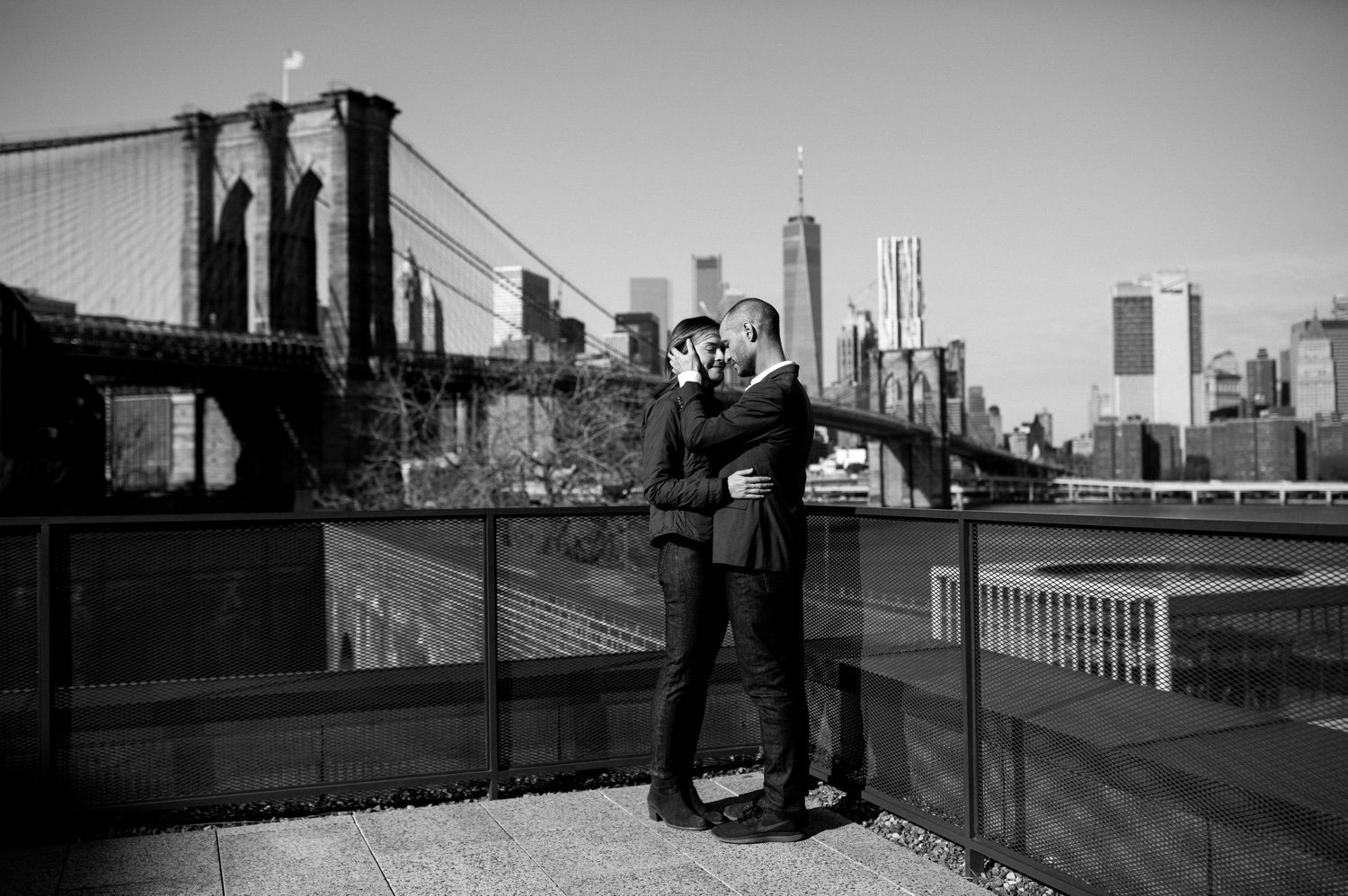 Best Destination wedding photographers in NY, Best Destination wedding photographers, DUMBO Engagement Session, DUMBO Brooklyn Engagement Photographer, The coolest places in brooklyn for an engagement session, Best places to take your engagement photos in brooklyn, Brooklyn NY Wedding Photographer, Wedding Photographers in Brooklyn, NYC Wedding Photographers on the Knot, Luxury NYC Wedding Photographers, Natura Collective, Sea Shack Photo and Films, Outside engagement session inspiration photos, Pinterest poses for engagement sessions, NYC Skyline engagement session photos
