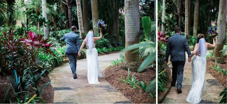 Sunken Gardens Wedding.Nikki Kevin Sunken Gardens Wedding Photos Natura