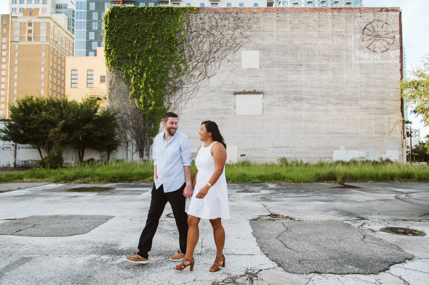 Tampa wedding photographer, Tampa engagement session, Tampa wedding photographers, wedding photographers in Tampa, luxury Tampa wedding photographer, LGBT friendly Tampa wedding photographers, gay Tampa wedding photographer, LGBT Tampa wedding photographer, LGBT Tampa wedding videographer, downtown Tampa engagement photos, downtown Tampa skyline engagement session, downtown Tampa parking garage engagement session, fort brooke parking garage, Tampa engagement session at fort Brooke parking garage, gay wedding photographers, LGBT wedding photographer