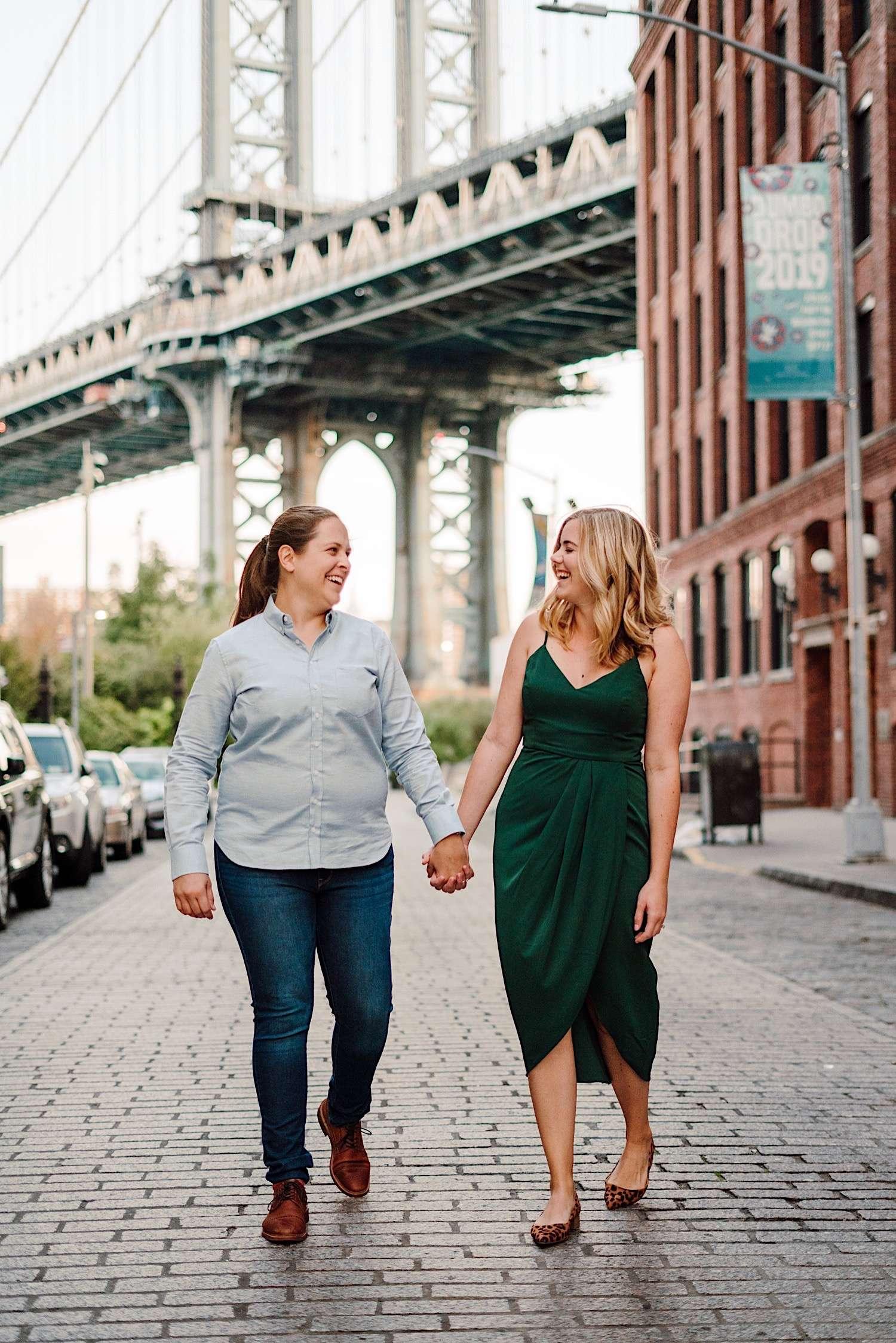 NYC LGBT Wedding Photographer, DUMBO engagement session gallery, LGBT Wedding Photographer, NYC Gay Wedding Photographer, DUMBO Engagement Photos
