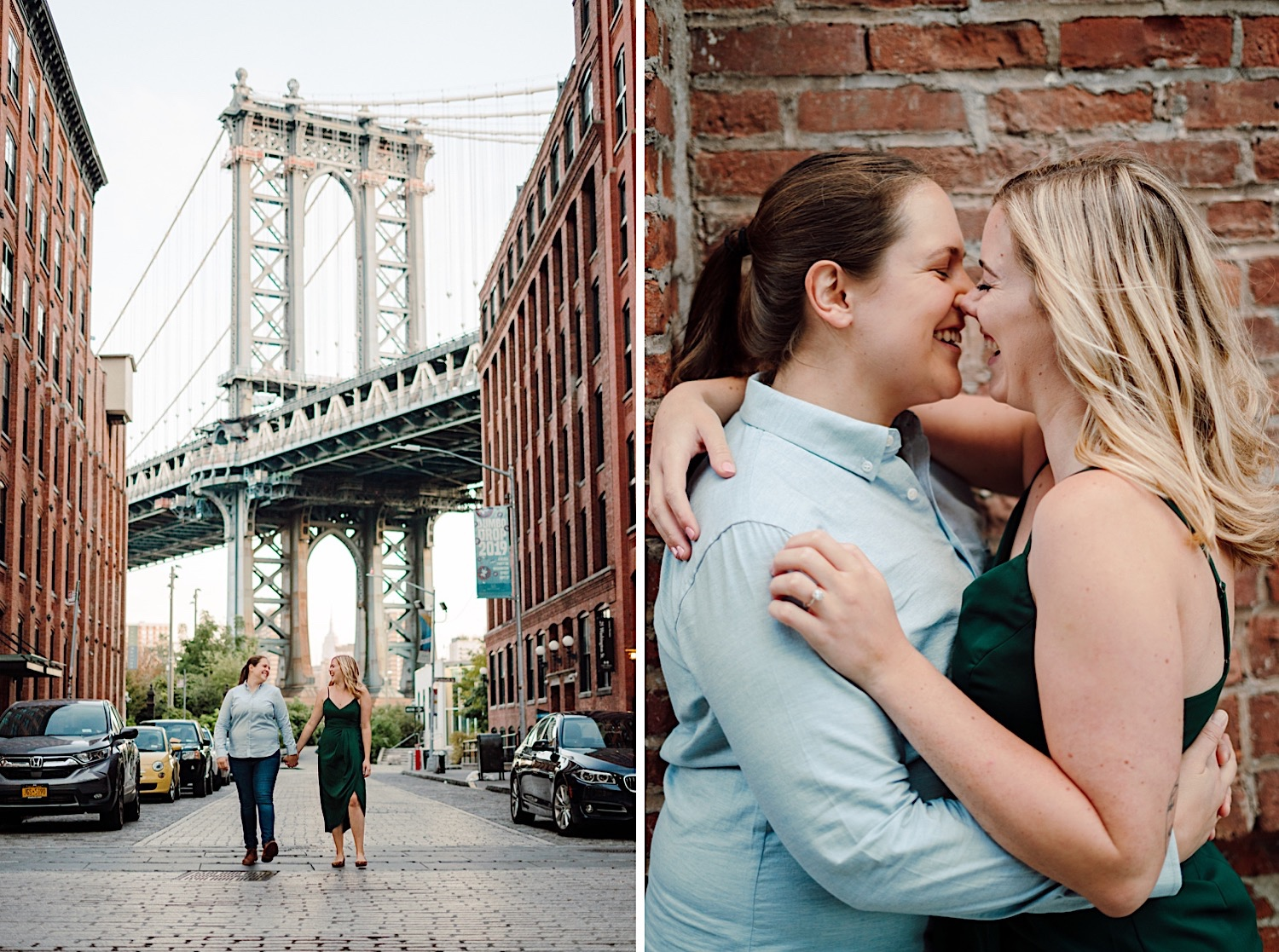 NYC LGBT Wedding Photographer, DUMBO engagement session gallery, LGBT Wedding Photographer, NYC Gay Wedding Photographer, DUMBO Engagement Photos