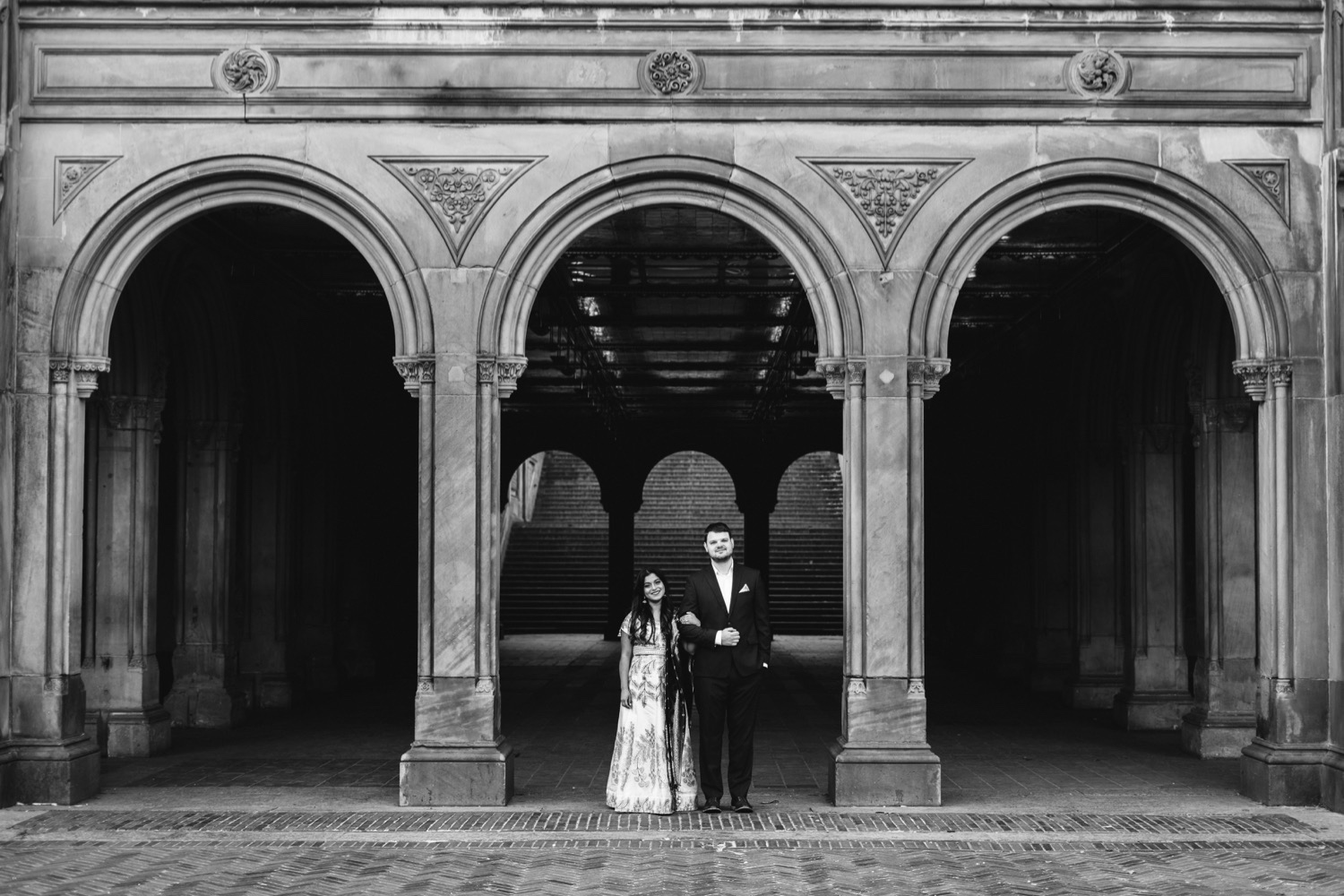 Bethesda Terrace Photo, Bethesda Terrace Engagement Session