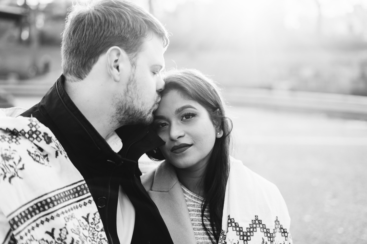 Central Park Engagement Pictures