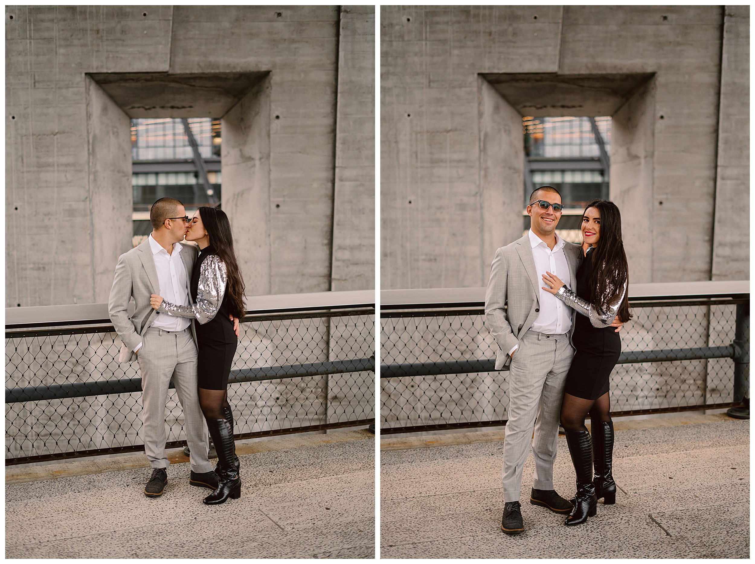 Chelsea Engagement Photos NYC