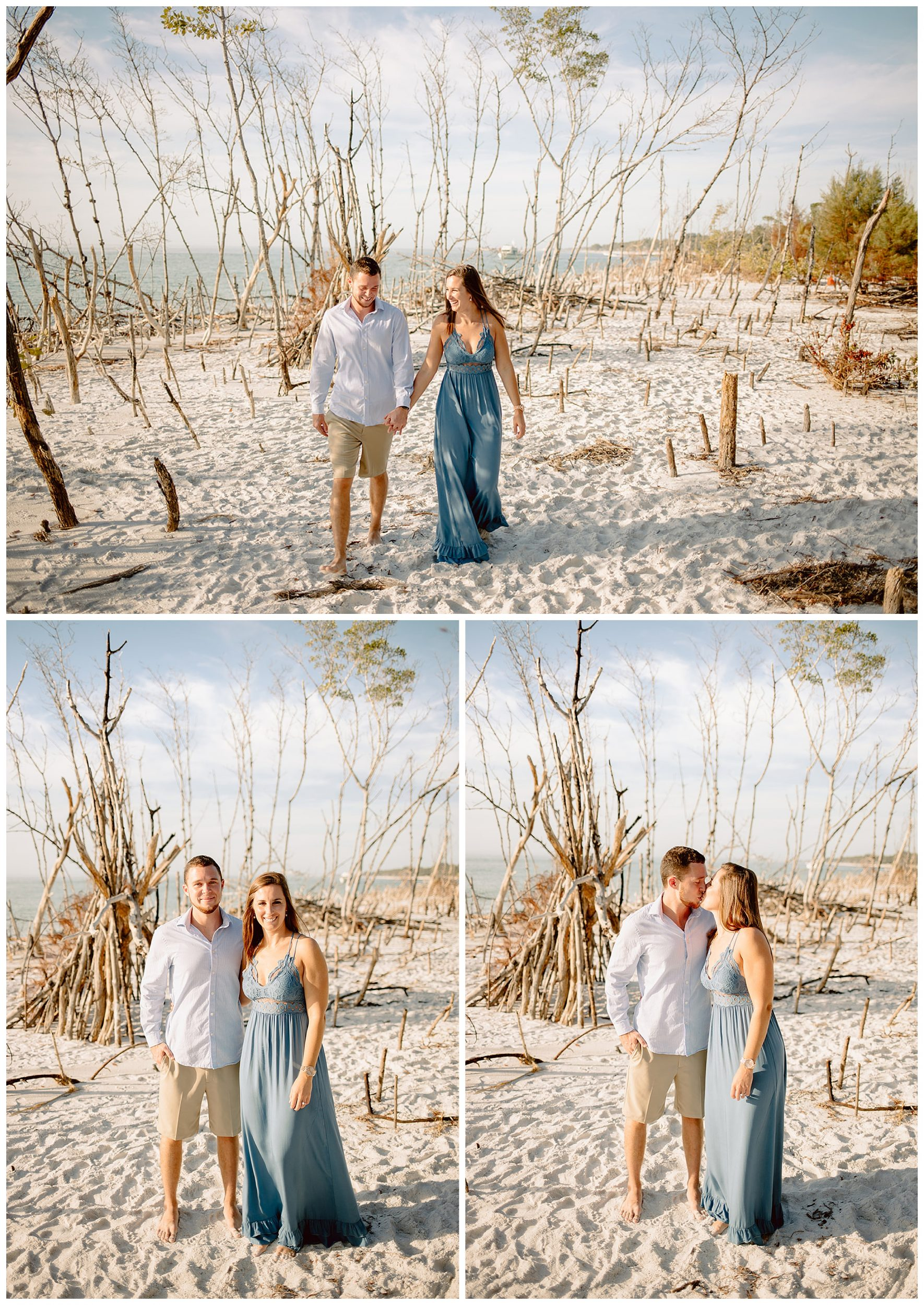 Beer Can Island Engagement Session