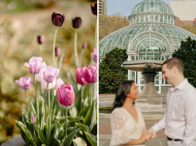 Brooklyn Botanic Garden Engagement